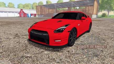 Nissan GT-R (R35) para Farming Simulator 2015