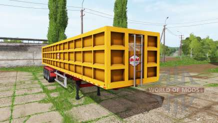 BsM tipper semitrailer para Farming Simulator 2017