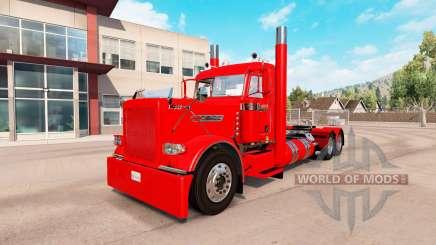 Aldeano de piel roja para el camión Peterbilt 389 para American Truck Simulator