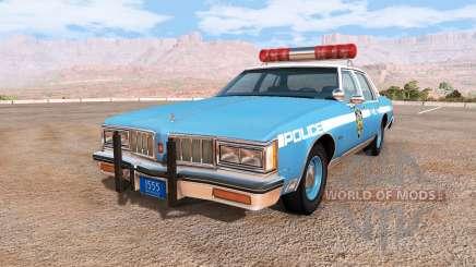 Oldsmobile Delta 88 cop pack para BeamNG Drive