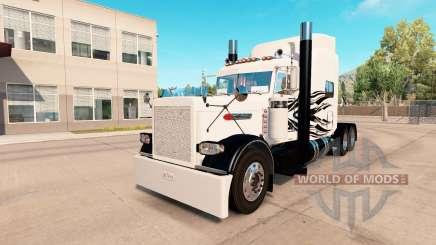 Simple Llamas de la piel para el camión Peterbilt 389 para American Truck Simulator