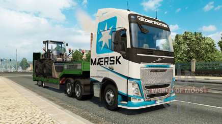 Painted truck traffic pack v2.2.1 para Euro Truck Simulator 2