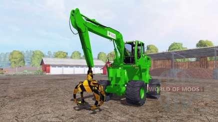 Liebherr A900C passion paysage logging para Farming Simulator 2015