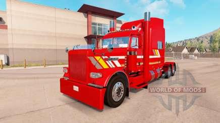 La piel Personalizado de remolque Pesado para el camión Peterbilt 389 para American Truck Simulator
