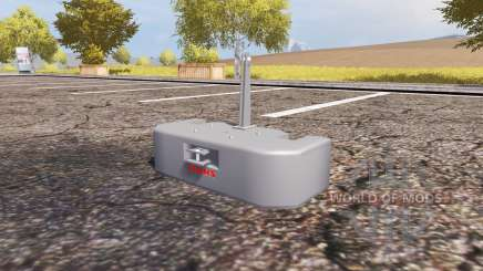 Weight CLAAS para Farming Simulator 2013