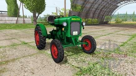 Deutz F1 M414 para Farming Simulator 2017