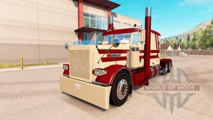 Máscara de la piel de descuento para el camión Peterbilt 389 para American Truck Simulator
