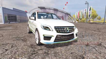 Mercedes-Benz ML 63 AMG (W166) v1.1 para Farming Simulator 2013