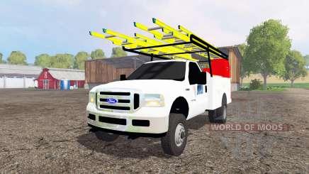 Ford F-250 2005 utility para Farming Simulator 2015