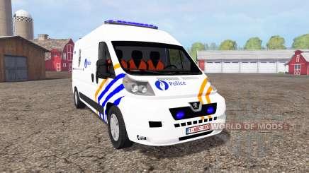 Peugeot Boxer Police para Farming Simulator 2015