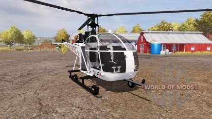 Aerospatiale SE.313B Alouette II v2.0 para Farming Simulator 2013