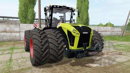 CLAAS Xerion 5000 v1.1.7 para Farming Simulator 2017