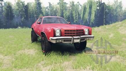 Chevrolet Monte Carlo 1977 para Spin Tires