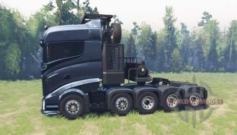 Scania R1000 para Spin Tires