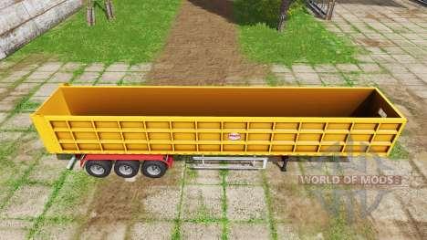 BsM tipper semitrailer v1.1 para Farming Simulator 2017
