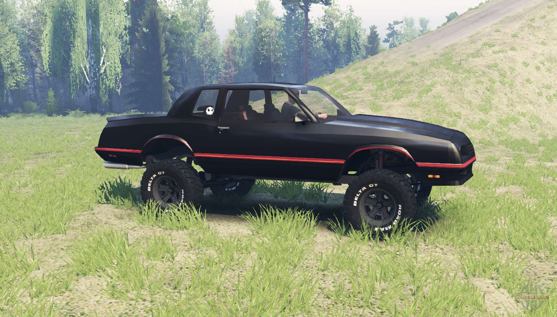 chevrolet monte carlo ss 1986 para spin tires. Black Bedroom Furniture Sets. Home Design Ideas