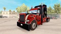 La madera de la piel para el camión Peterbilt 38