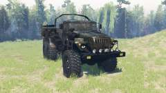 Ural 4320 ejército v3.4 para Spin Tires