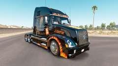 La piel de premio mayor en el tractor Volvo VNL
