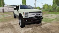 Ford F-350 Super Duty King Ranch Crew Cab para Farming Simulator 2017