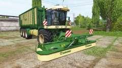 Krone BiG L 550 Prototype v1.0.0.2 para Farming Simulator 2017