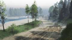 El polvo de los caminos para Spin Tires