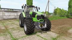 Deutz-Fahr 9340 TTV chip tuning para Farming Simulator 2017