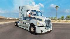 La piel Werner en el tractor Freightliner Cascadia para American Truck Simulator