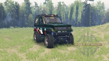 Toyota Land Cruiser 70 para Spin Tires
