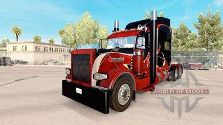 La madera de la piel para el camión Peterbilt 389 para American Truck Simulator