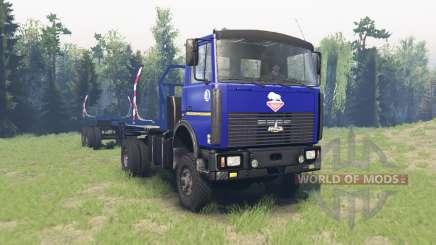 MAZ 5434 v4.0 para Spin Tires