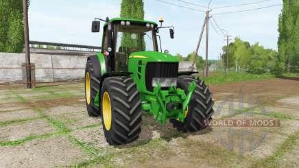 John Deere 7430 v2.1 para Farming Simulator 2017