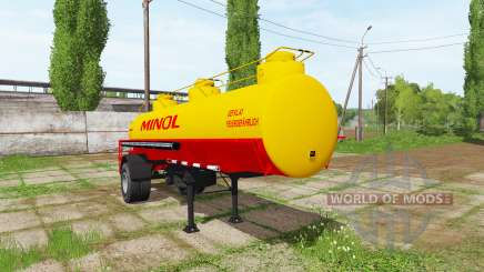 Fuel tank semitrailer para Farming Simulator 2017