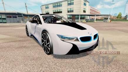 BMW i8 (I12) v2.0 para Euro Truck Simulator 2