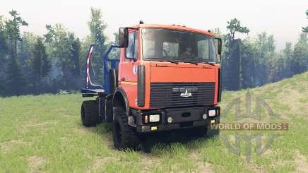 MAZ 5434 v3.0 para Spin Tires