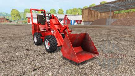 Weidemann Hoftrac 916 DM para Farming Simulator 2015