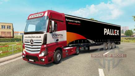 Painted truck traffic pack v2.3 para Euro Truck Simulator 2