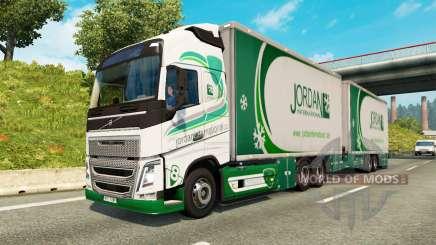 Tandem truck traffic v1.1.1 para Euro Truck Simulator 2
