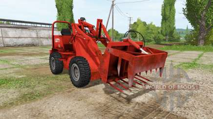 Weidemann 1502DR v2.0 para Farming Simulator 2017