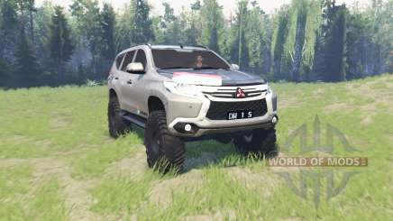 Mitsubishi Pajero Sport para Spin Tires