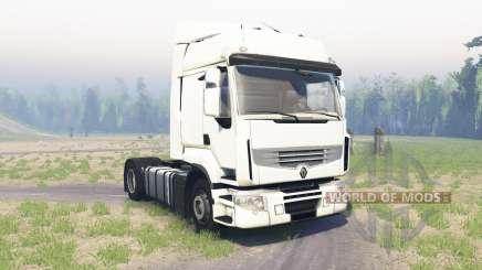 Renault Premium para Spin Tires