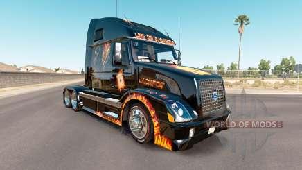La piel de premio mayor en el tractor Volvo VNL 670 para American Truck Simulator