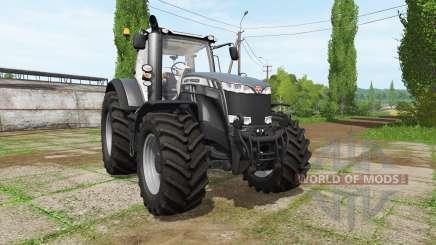 Massey Ferguson 8737 black edition para Farming Simulator 2017