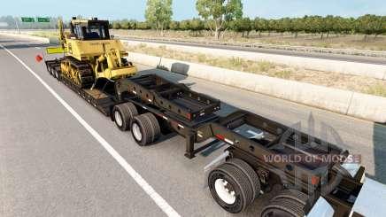 Fontaine Magnitude 55L Komatsu para American Truck Simulator