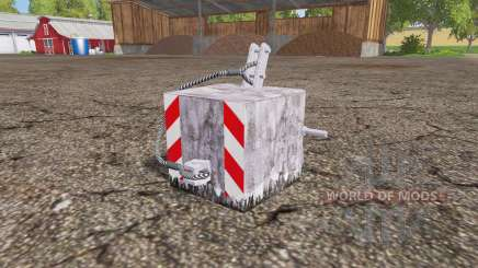 Concrete weight para Farming Simulator 2015