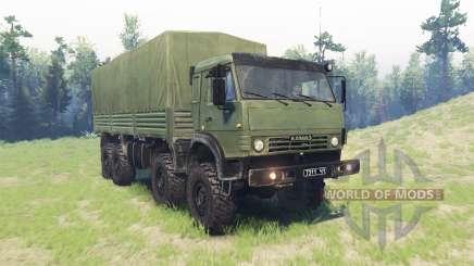 KamAZ 63501 para Spin Tires