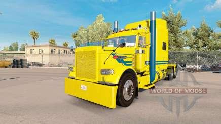 Blue streak de la piel para el camión Peterbilt 389 para American Truck Simulator