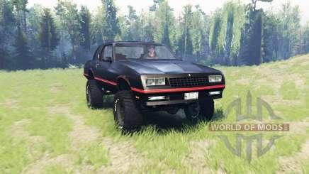Chevrolet Monte Carlo SS 1986 para Spin Tires