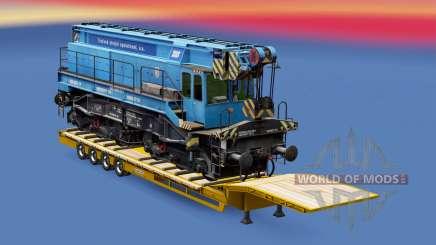 Railway cargo pack v1.7.2 para Euro Truck Simulator 2