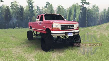 Ford F-350 1995 para Spin Tires